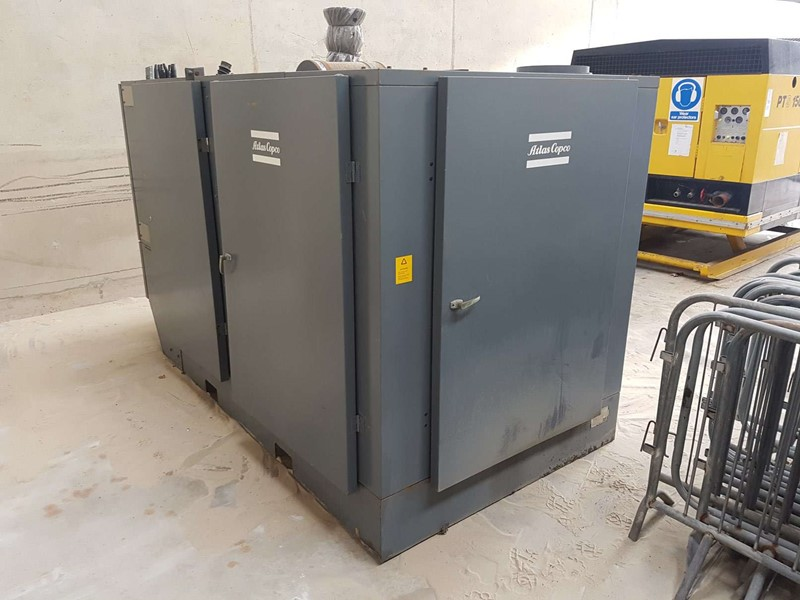 ATLAS COPCO  - ZR4 AE Oil Free Diesel Powered Air Compressor