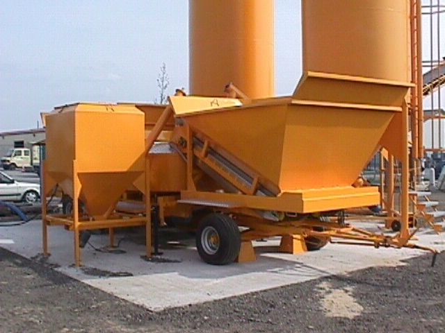SUMAB - USED mobile concrete plant M-2200 Available video NOW!
