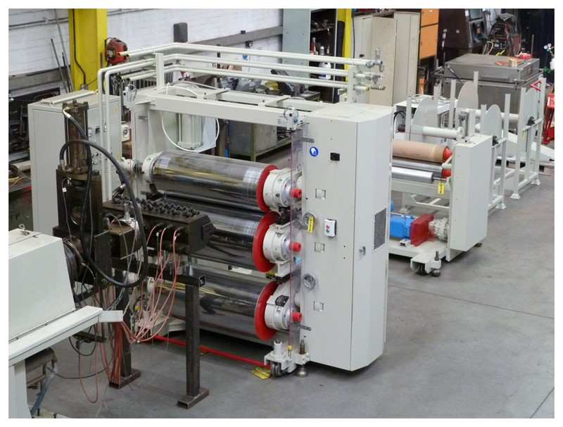 OMV - 1000mm Omv co-extrusion line.