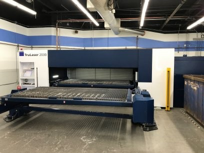 The latest machine from Laser - Press