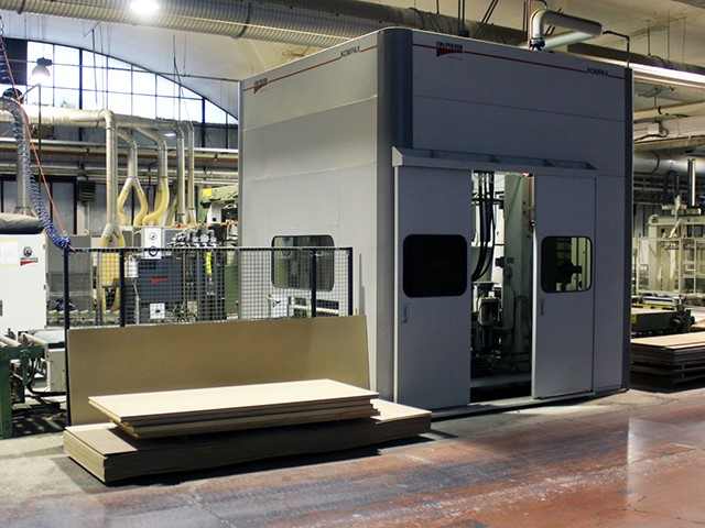 The latest machine from Window & Door Production