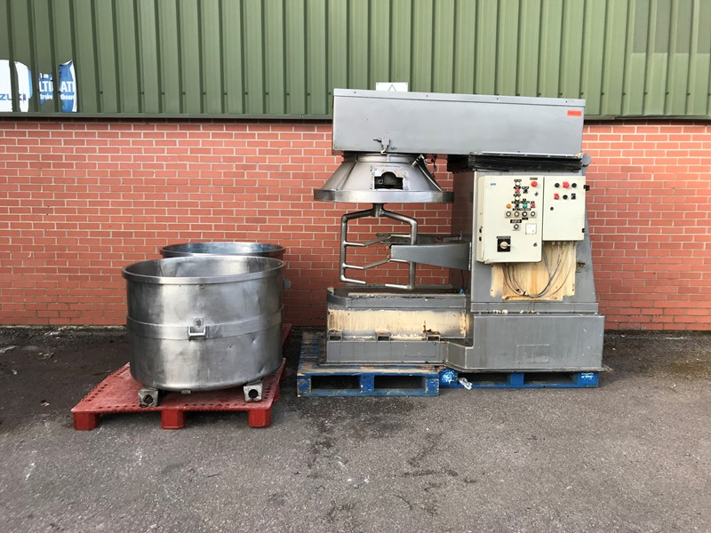 The latest machine from Mixers / Tumblers