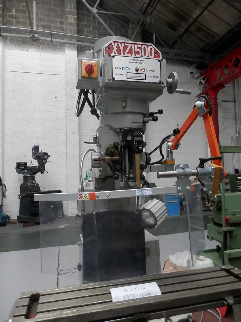 Milling Vertical Xyz 1500 For Sale Industrialmachines Net