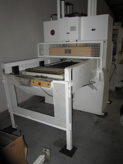 The latest machine from Thermoforming