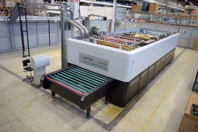 Glass Heating Furnace - heat treating of sheet glass