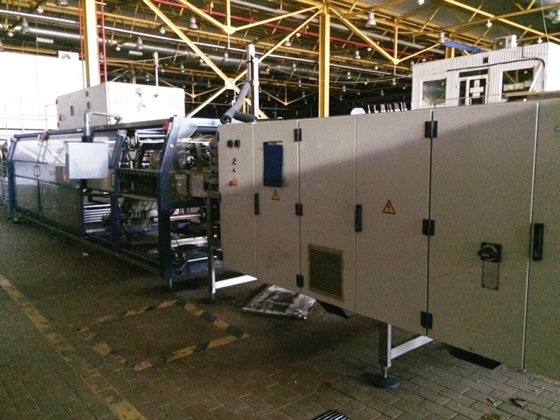 Tray Shrink Wrapper 60 cycles/min - Kettner Variopac TFS-60