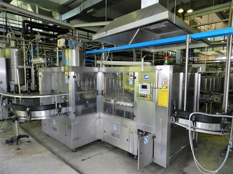 Glass Bottle Fillerblock 18.000 bph - AVE Uniblock FHP 40/40/12