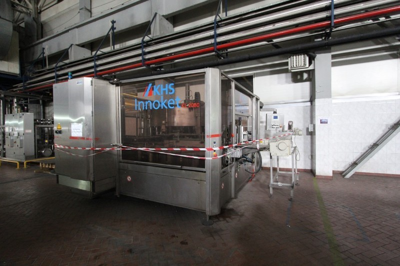 Labeling Machine Cold Glue  - KHS Innoket KL 2080, two stations