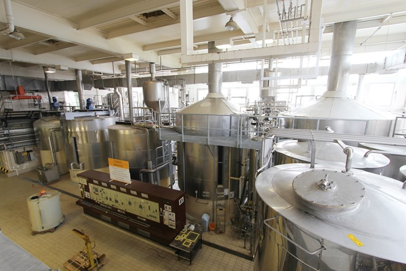 Beer Brewery 250 hl/Brew - Steinecker, 700 000 hl / year
