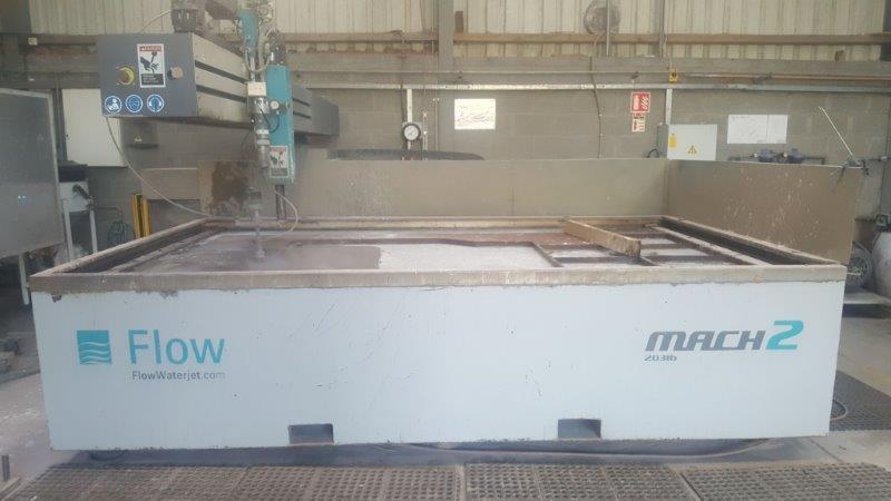 Water Jet - Multi Axis Flow Mach 2b Waterjet Profiling Machine for