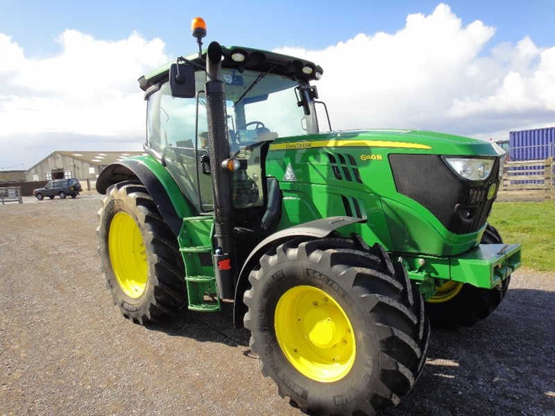 The latest machine from Tractors