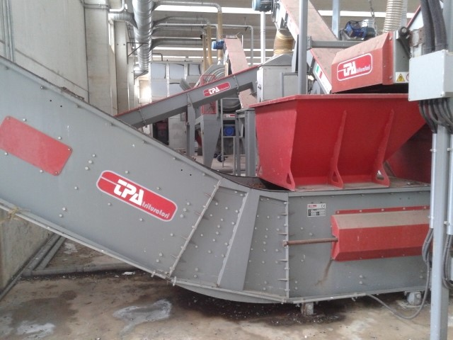 TPA  - COMPLETE TIRE RECYCLING LINE 2500 kg/h
