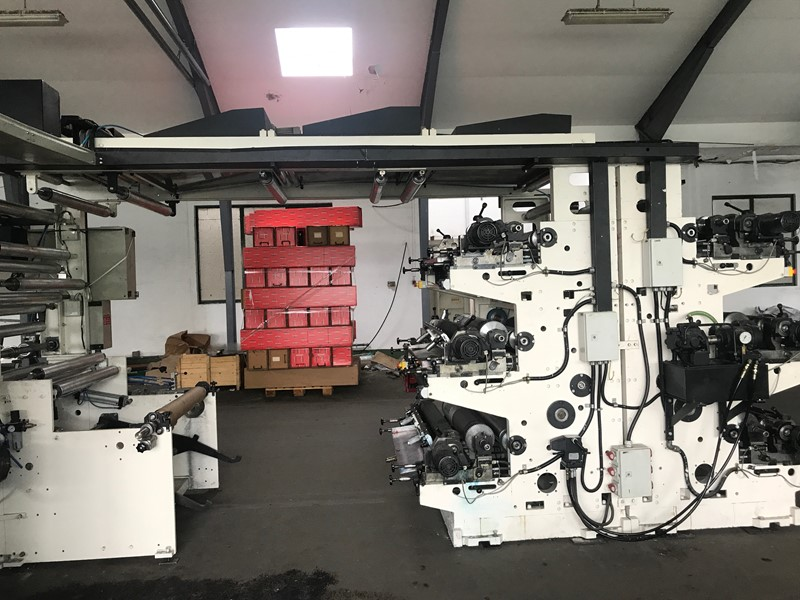 NEWLONG - LHNL610 FLEXOPRINTING STACK TYPE