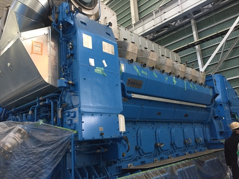 Diesel Generators 2 x 5.7 MW - Rolls Royce – Bergen 2015 never installed