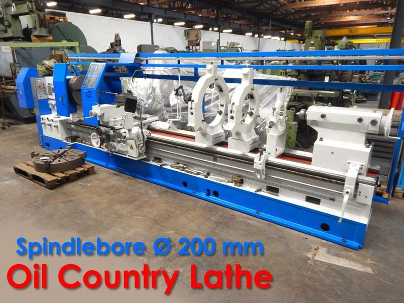 The latest machine from Lathe - Oil Country