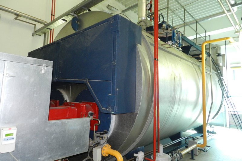 Steam Boiler LOOS Universal - ZFR-28000, 28 tons/h, 10 bar