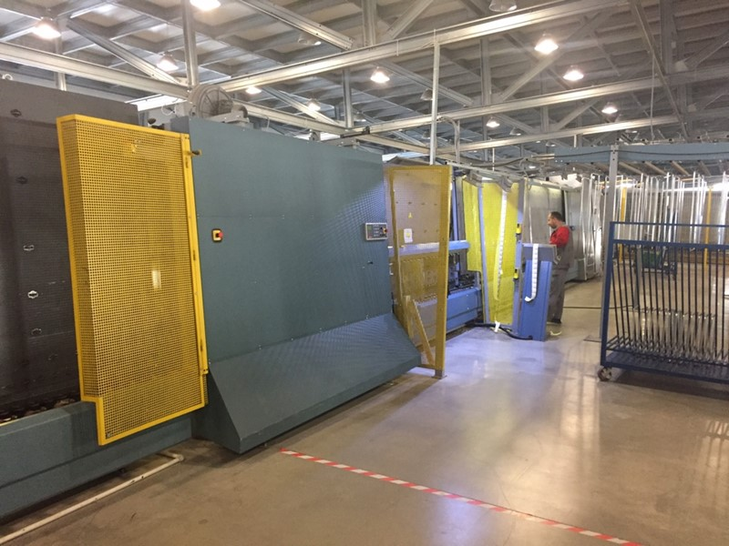 Lisec - Cutting line +Insulating glass line