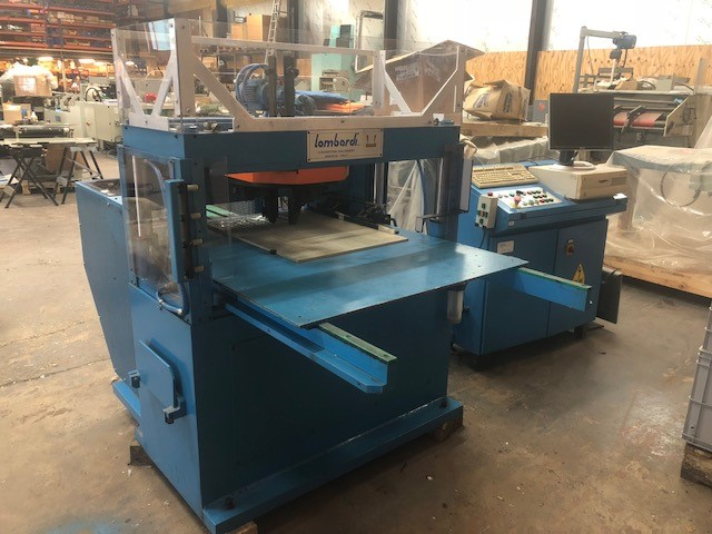 Cutting Lombardi Automatic Label Punching System Model