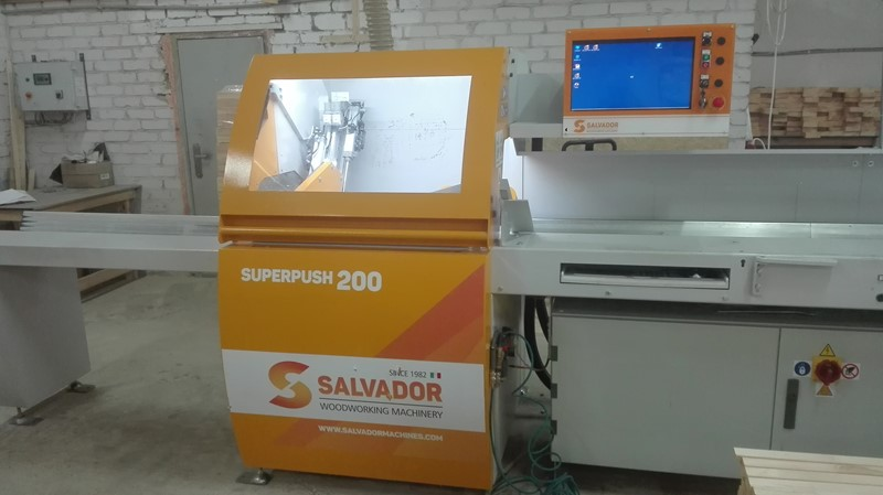 The latest machine from CNC