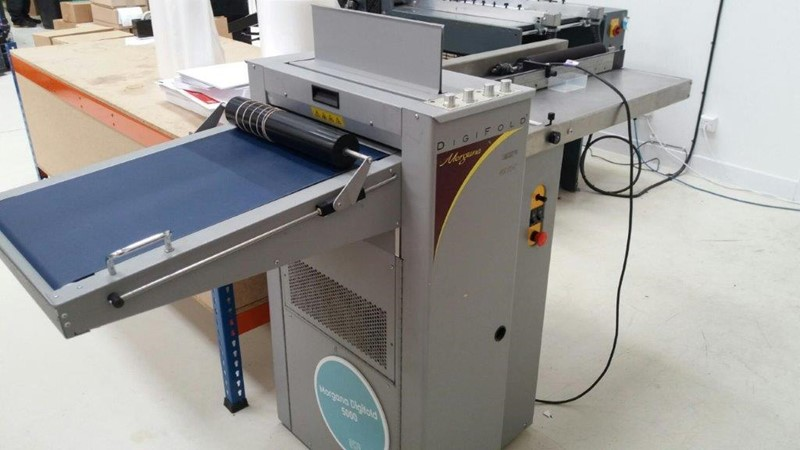 Morgana - 5000P Digifold Folding/Creasing Machine