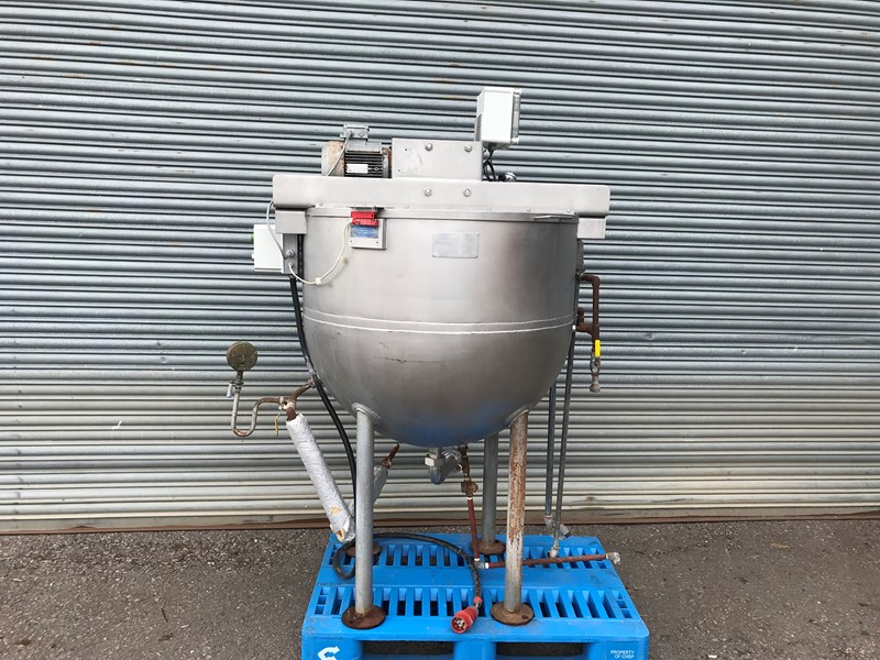 APV - 500L jacketed mixing vessel