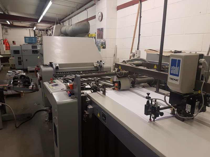 The latest machine from Printing
