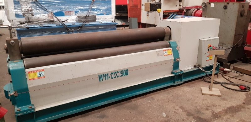 The latest machine from Bending Rolls - Plate