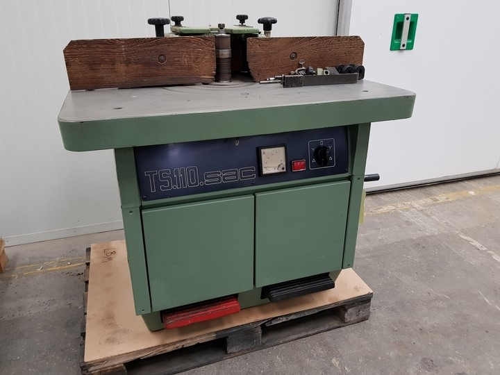The latest machine from Moulders - Spindle