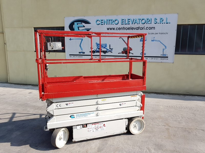 The latest machine from Scissor Lift