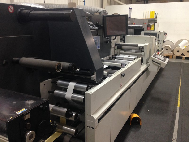 The latest machine from Pre Press