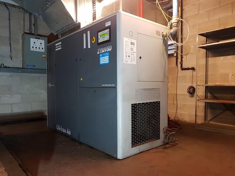 ATLAS COPCO - ZT50 VSD Air Compressor (Oil Free)