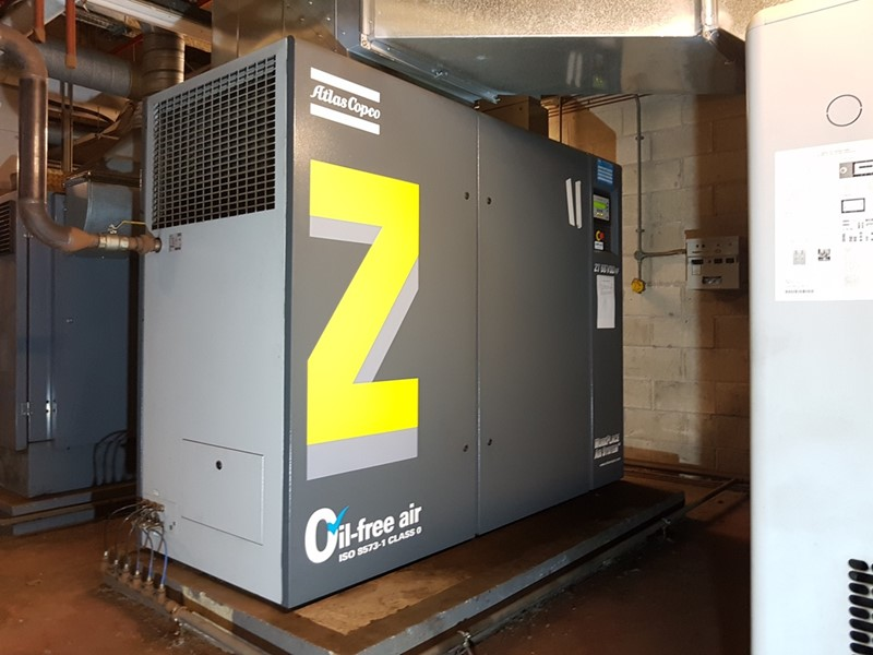 ATLAS COPCO - ZT 55VSD FF Air Compressor (Oil Free)