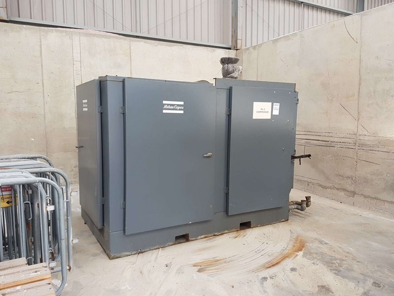 ATLAS COPCO - ZR4 Air Compressor