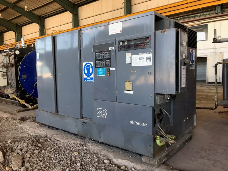ATLAS COPCO - ZR5 B Air Compressor