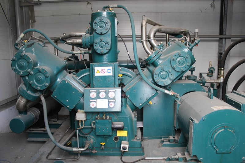 The latest machine from Compressors