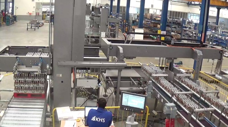 Hot Filling Line One Way Glass - KHS 40 000 bph