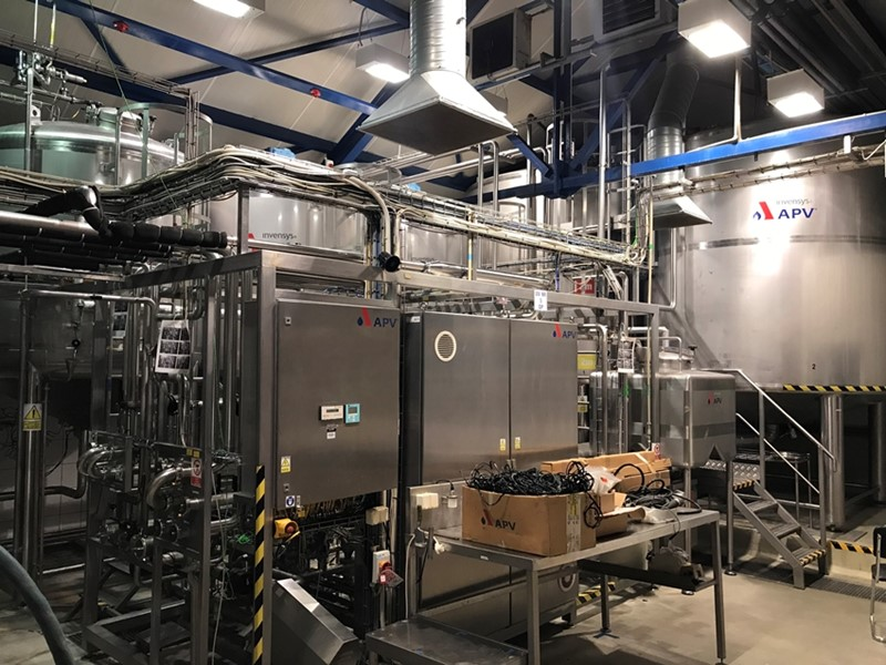 Flavored Still Water Production Equipment - APV 15 000 ltr/h