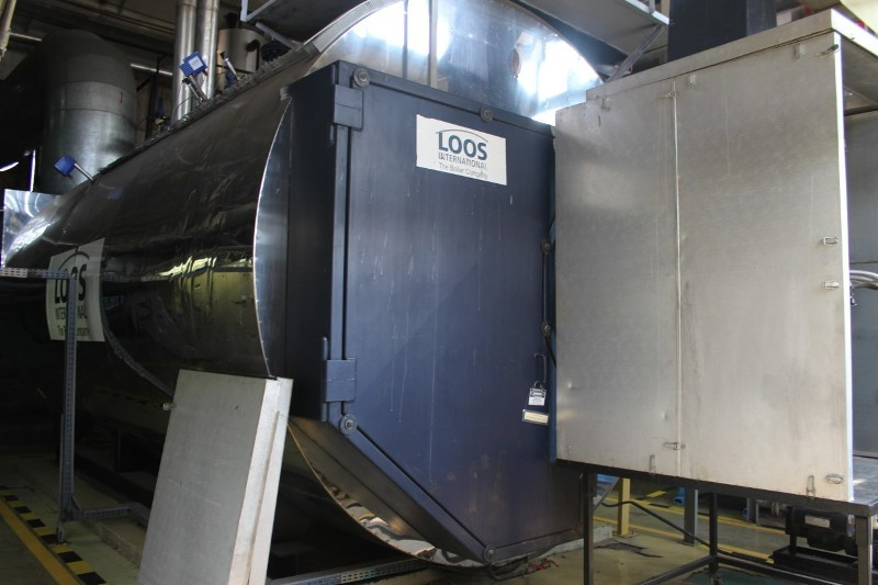 Steam Boiler LOOS UL-S - 22 tons/h, 13 bar, dual fuel