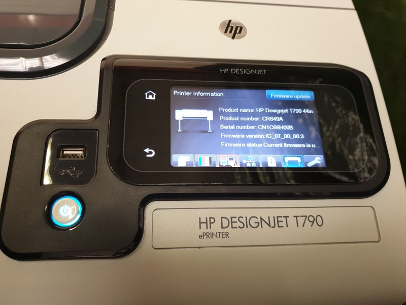 "HP - Designjet T790 44"" Printer"