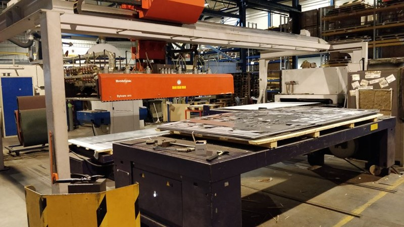 Bystronic laser cutting machine  - Bystar 3015