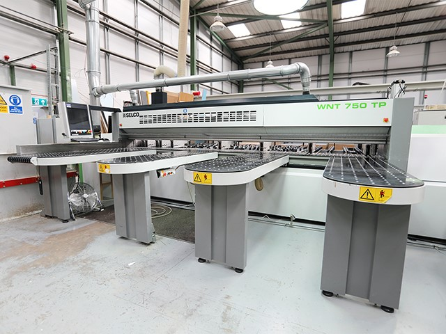 The latest machine from Edge Bander / Sizing