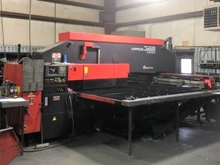 Punch Press AMADA VIPROS 368 KING II for sale - IndustrialMachines net