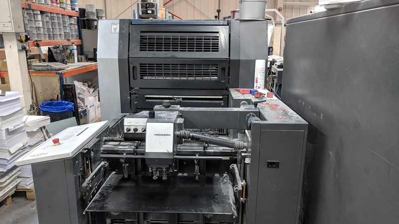 The latest machine from Sheet Fed - Offset Presses