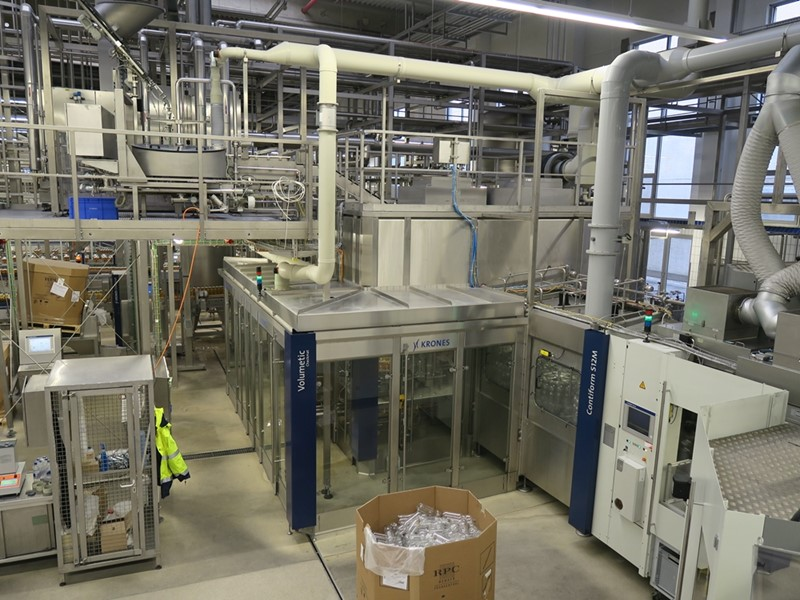 Ultra Clean-Aseptic PET Filling Line - Krones and GEA, 24 000 bph
