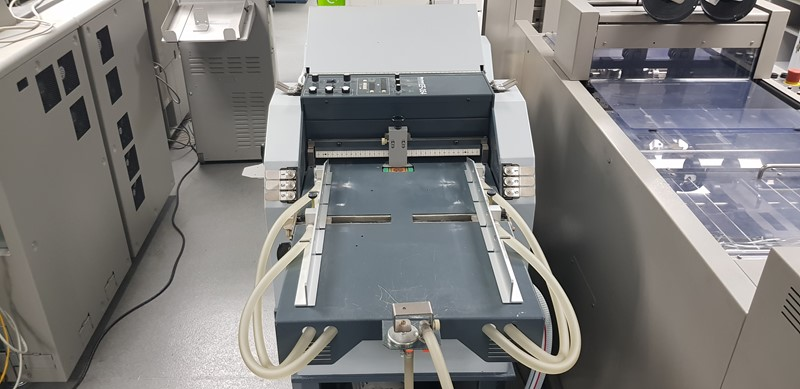 The latest machine from Finishing & Bindery