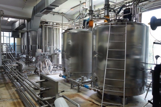 Complete Syrup Plant with CIP - PEACON 1.000 kg/h