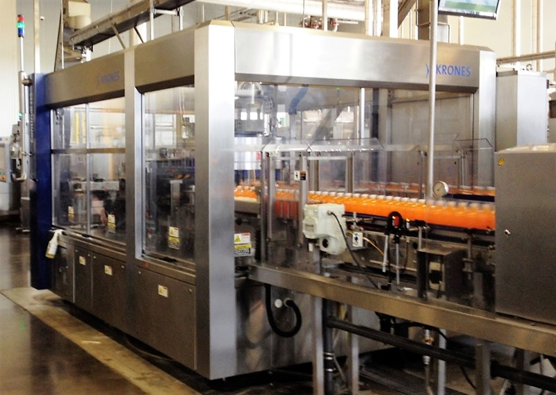 Labeling Machine KRONES Contiroll - roll feed sleever, HS 960-24