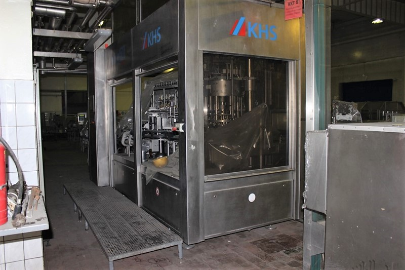 Glass Bottle Filler-Capper - KHS Innofill DMG, 25 000 bph