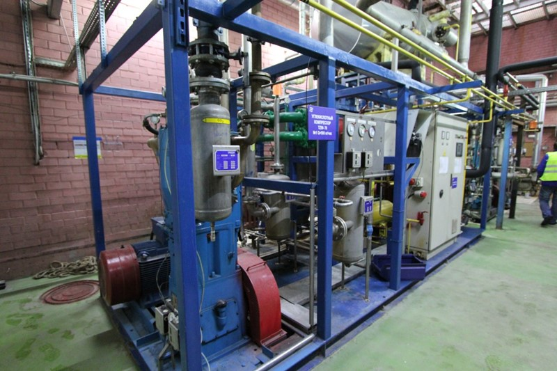 CO2 Recovery Plant 500 kg/h - Union Engineering