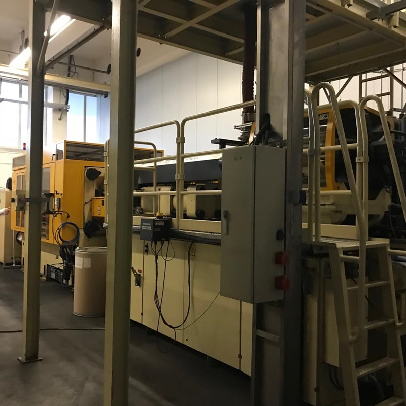 Injection Molding Plant for Preform - two Husky HyPET 300